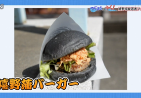嬉野×忍者「嬉野藩バーガー」販売開始!